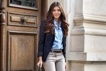 Work outfits / Simple but beautiful looks for work