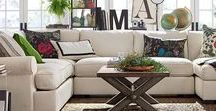 Living Room Ideas / Living Room Ideas. Inspiration, tips, and how-tos. | Decor, furniture, storage, and organization.