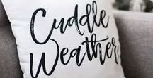 Hello Winter !! / It's Winter Time! Inspiration, ideas, tips, tricks, and how-tos. | DIY decor, furniture, crafts, and design. | Blacks, whites, grays, browns, greens, blues, and reds. Hello Winter! Visit my blog for winter decor ideas.