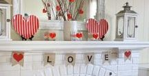 Valentines Day / Celebrate Valentines Day the right way! Inspiration, ideas, tips, tricks, and how-tos. | DIY decor, furniture, crafts, design, and parties. | Home for the holidays. Visit my blog for Valentines Day decor ideas!