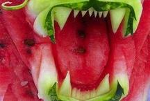 Frutta Intagliata - Arte Cinese