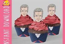 Gloriously Geeky Cupcakes