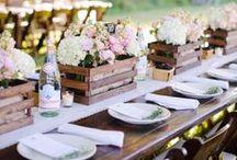 Rustic wedding / Per un matrimonio nella natura