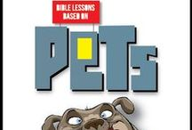 PETS Children's Ministry Curriculum Ideas / Bible lessons based on kids favorite pets.  Use these ideas to go along with our Pets Children's Ministry Curriculum. / by Children's Ministry Deals