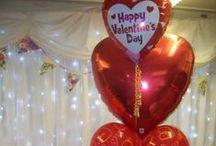Valentine Balloons / Pretty Balloon ideas for Valentine's Day