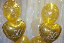 Anniversary Balloon Decor / Balloon decor for special anniversaries.