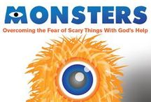 Monsters 4 -Week Children's Ministry Curriculum Ideas / Fun Halloween Children's Ministry Ideas to go along with this curriculum or any of your October Children's Ministry programming. / by Children's Ministry Deals