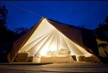 06 | GLAMPING / Here you'll find inspiration to help craft an authentic luxury camping experience.