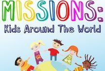 Missions: Kids Around The World 8-Week Children's Ministry Curriculum / Missions: Kids Around The World Children's Ministry Curriculum is perfect to teach kids about Paul's missions and how they can help share Jesus with others. Here are some fun ideas you can use along with it.  / by Children's Ministry Deals
