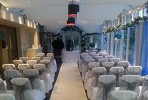 Winter Weddings at Rosslea Hall Hotel / Magical 'Winter Wonderland' weddings at Rosslea Hall Hotel.