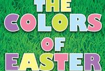 The Colors of Easter Children's Ministry Curriculum Ideas / The Colors of Easter 4-Week Children's Ministry Curriculum is brand new for 2015. These 4 fun lessons will teach kids about how who Jesus is and what he did for us on the cross. Here's some great ideas to go along with the curriculum.  / by Children's Ministry Deals