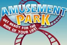 Amusement Park 8-Week Children's Ministry Curriculum Ideas / Use these fun ideas along with our new Amusement Park 8-Week Children's Ministry Curriculum. / by Children's Ministry Deals