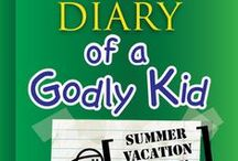 Diary of a Godly Kid Summer Vacation Children's Ministry Ideas / Use these fun ideas along with our new Diary of a Godly Kid Summer Vacation 8-Week Children's Ministry Curriculum / by Children's Ministry Deals