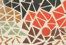 patterns / intricate patterns and geometric forms in paintings, textiles, rugs, quilts, glass...
