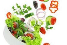 Salaatillisia käyttöohjeita - / Salaattien terveellisyydestä, säilytyksestä ja muita ohjeita