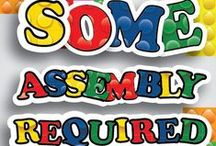 Some Assembly Required Children's Ministry Curriculum Ideas / Teach kids Bible lessons based on LEGO bricks.  Use these fun ideas along with our new Some Assembly Required 4-Week Children's Ministry Curriculum. / by Children's Ministry Deals