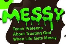 Messy Children's Ministry Ideas / Use these fun ideas along with our new Messy 4-Week Preteen Ministry Curriculum. / by Children's Ministry Deals