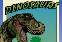 Dinosaurs Children's Ministry Curriculum Ideas / Teach kids Bible lessons based on Dinosaurs. Use these fun ideas along with our Dinosaurs 4-Week Children's Ministry Curriculum.  / by Children's Ministry Deals