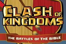 Clash of Kingdoms Children's Ministry Curriculum Ideas / Teach kids about some of the biggest battles of the Bible. Use these fun ideas along with our new Clash of Kingdoms 4-Week Children's Ministry Curriculum. / by Children's Ministry Deals