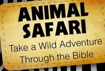 Animal Safari Children's Ministry Curriculum Ideas / Use these fun ideas along with our Animal Safari 8-Week Children's Ministry Curriculum.  / by Children's Ministry Deals