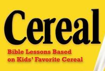 Cereal Children's Ministry Curriculum Ideas / Teach kids Bible lessons based on their favorite breakfast cereals. Use these fun ideas along with our Cereal 12-Week Children's Ministry Curriculum.  / by Children's Ministry Deals