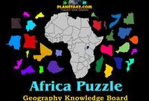 Geography Games / Games and puzzles to study geography.