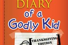 Diary of a Godly Kid Thanksgiving Ideas / Teach kids how to be a kid who praises God. Use these fun ideas along with our new Diary of a Godly Kid Thanksgiving 4-Week Children's Ministry Curriculum.  / by Children's Ministry Deals