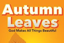 Autumn Leaves Children's Ministry Ideas / Teach kids 4 Bible lessons based on the Psalms. Use these fun ideas along with our Autumn Leaves 4-Week Children's Ministry Curriculum. / by Children's Ministry Deals