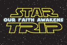 Star Trip Children's Ministry Curriculum Ideas / Teach kids Christmas Bible lessons based on STAR WARS! Use these fun ideas along with our Star Trip 4-Week Christmas Children's Ministry Curriculum.  / by Children's Ministry Deals