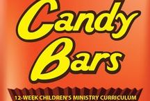 Candy Bars Children's Ministry Curriculum Ideas / Teach kids Bible lessons based on their favorite candy bars. Use these fun ideas along with our new Candy Bars 12-Week Children's Ministry Curriculum.  / by Children's Ministry Deals