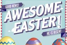 Awesome Easter Children's Ministry Curriculum Ideas / Awesome Easter 4-Week Children's Ministry Curriculum is brand new for 2016. These 4 fun lessons will teach kids about the AWESOME Easter story. Here's some great ideas to go along with the curriculum.  / by Children's Ministry Deals