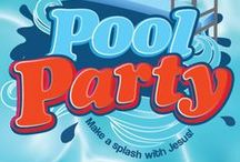 Pool Party Children's Ministry Curriculum Ideas / Teach kids Bible lessons based on a fun pool party. Use these fun ideas along with our Pool Party 5-Week Summer Children's Ministry Curriculum.  / by Children's Ministry Deals