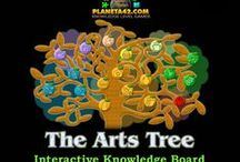 Arts Games / Games and puzzles including arts knowledge.