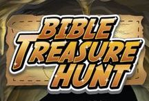 Bible Treasure Hunt Children's Ministry Curriculum Ideas / Teach kids Bible lessons based on an epic treasure hunt! Use these fun ideas along with our Bible Treasure Hunt 8-Week Children's Ministry Curriculum.  / by Children's Ministry Deals