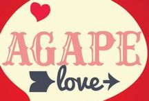 Agape Love Valentine's Children's Ministry Lesson /  This Valentine's Day teach kids about God's love and how he wants us to share his love with others! Use these fun ideas along with our Agape Love Valentine's Day Lesson.  / by Children's Ministry Deals