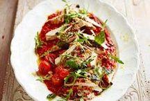 Kanasalaatti-reseptit - Chicken-salad-recipes / Kanasalaattireseptejä.