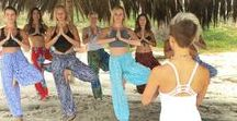 Community Involvement / Pi Yoga Pants traveling the World