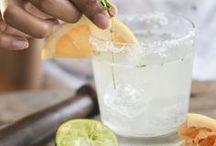 Drinkkireseptit / Drinkkireseptejä, joissa on käytetty yrttejä ja vihanneksia ja marjoja.