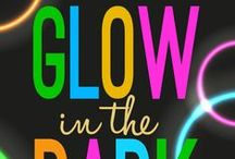 Glow In The Dark Children's Ministry Curriculum Ideas / Teach kids Bible lessons about trusting God when they are afraid. Use these fun Glow in the Dark ideas along with our Glow In The Dark 4-Week Children's Ministry Curriculum. / by Children's Ministry Deals