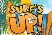 Surfs Up Children's Ministry Curriculum Ideas / These ideas are perfect to use along with the Surfs Up 10-Week Children's Ministry Curriculum series from Children's Ministry Deals.  Kids will learn about the Beatitudes from the Beati-DUDES! / by Children's Ministry Deals