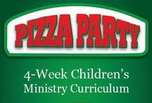 Pizza Party Children's Ministry Curriculum Ideas / Pizza Party Children's Ministry Curriculum Ideas. These ideas are perfect to use along with the Pizza Party 4-Week Children's Ministry Curriculum series from Children's Ministry Deals. Kids will learn about the ingredients it takes to be a good friend. / by Children's Ministry Deals