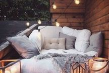 ❇ Interior - Outside spaces