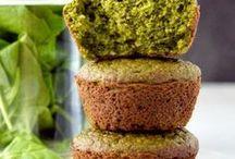 Pinaattireseptit - spinach recipes / Erilaisia pinaattireseptejä