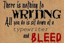 Swords of Ink / Writing quotes, sites, articles, inspiration, and advice. Everything you need to sharpen your sword of ink.