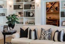 Storage / Creative storage solutions suggested by Mulberry Interiors.