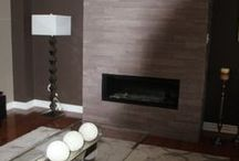 Fireplaces / Fireplace and room décor ideas.