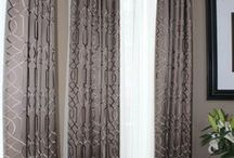 Draperies / One of the services that Mulberry Interiors provides is custom window treatments.