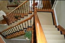 Staircases / Staircase ideas, large and small.