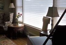 Draperies, Shutters, and Blinds / Mulberry Interiors, based in Oakville, Ontario, Canada is a full service interior design and décor service. One of the services available is window treatments for homes.
