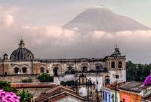 Guatemala / a place full of charismatic towns, chaotic cities, temples and ruins, charming island towns, remote pools of beauty and some big spiders